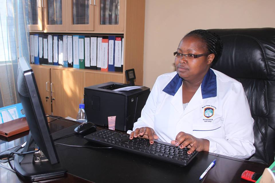 Ms Victoria Munyao librarian